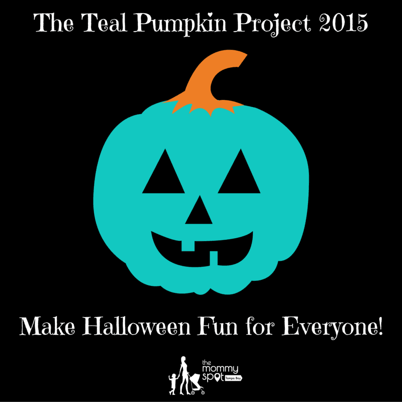 The Teal Pumpkin Project 2015Make Halloween Fun for Everyone!