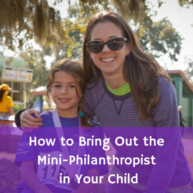 How to Bring Out the Mini-Philanthropist in YourChild