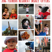 2016 FLorida Resident Disney Offers
