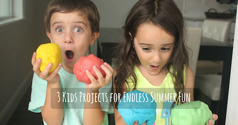 3 Kids Projects for Endless Summer Fun slide