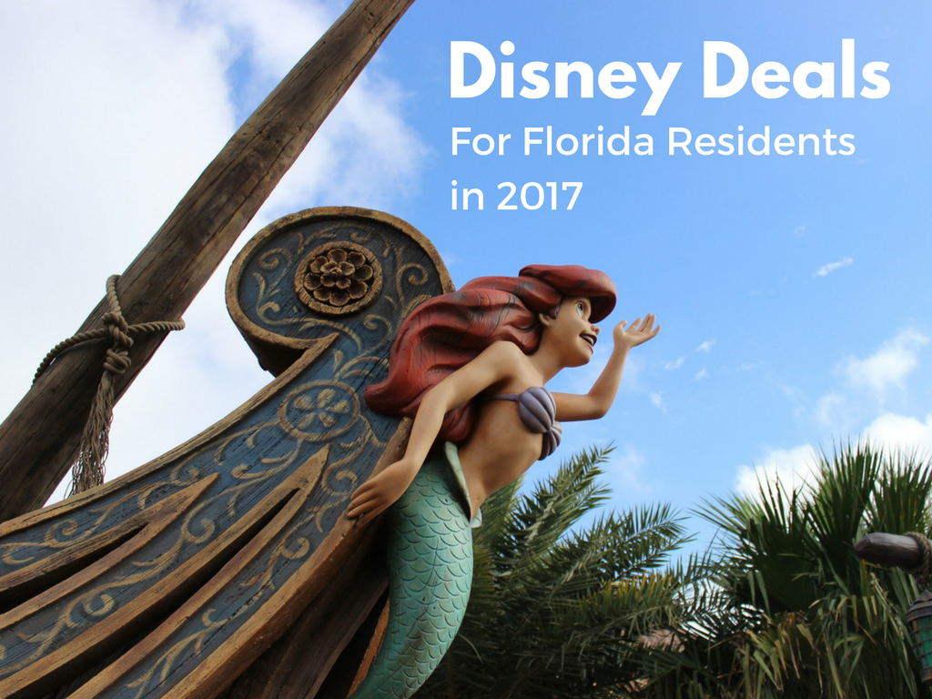 Florida resident disney deals 2018