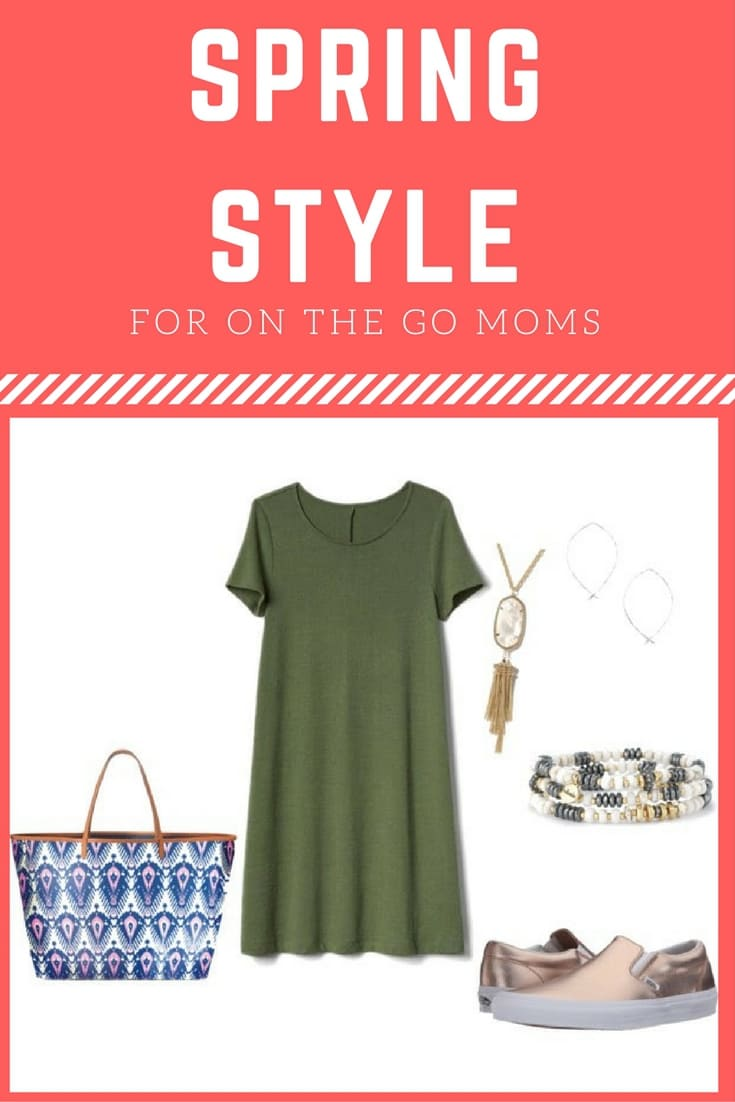 Spring Style for On the Go Moms | Spring Style | Spring Fashion | Spring Dresses | Spring Shoes | Mom Style