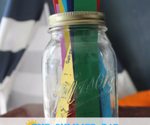 The Summer Jar | Summer Fun | Things to Do with Kids in Summer | Summer Activities | Summer Craft